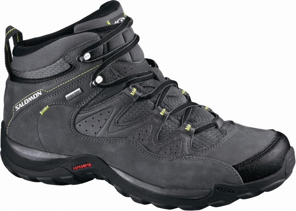 Купить Ботинки городские (высокие) SALOMON ELIOS MID GTX 3 AUTOB/BLACK/S GR Обувь для города 1209785