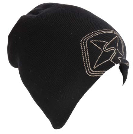 Шапка SESSIONS 2011-12 Blasted Beanie 01A Black