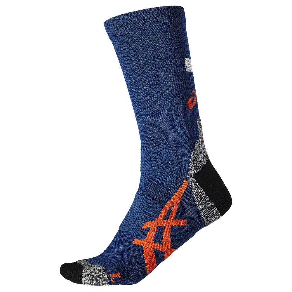 Носки Asics 2017-18 Winter Running Sock Синий/бело-Красный, унисекс  - купить со скидкой