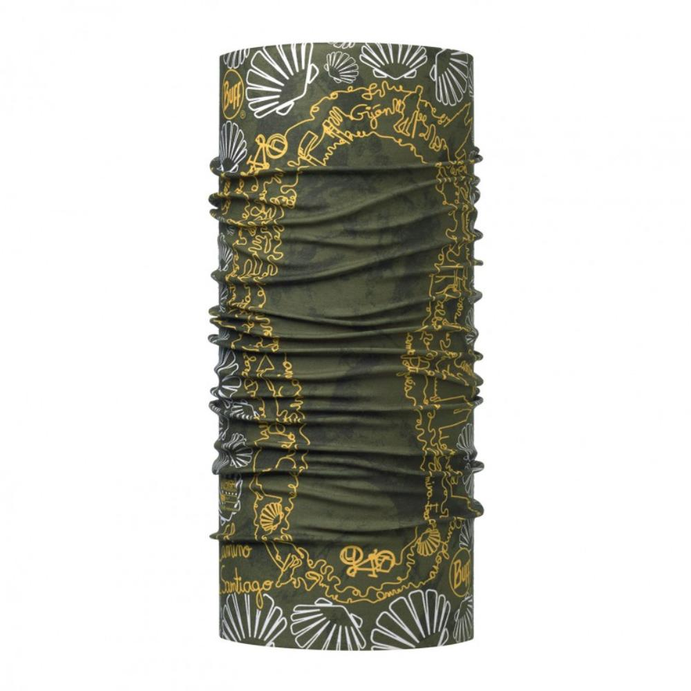 Купить Бандана BUFF High UV CAMINO FOOTPRINT GREEN/OD Банданы и шарфы Buff ® 1343505