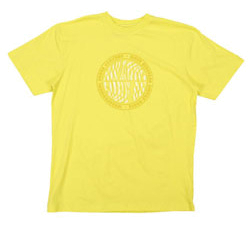 Футболка для активного отдыха RIPZONE 2012 SHORT SLEEVE TEES-SOLID 10TG Yellow Retro Logo желтый/принт