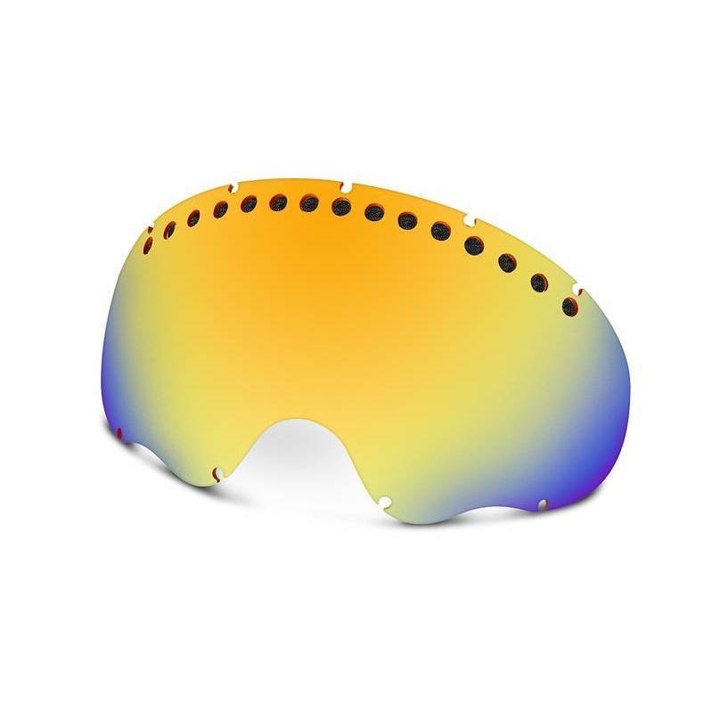 Купить Запасные линзы Oakley A FRAME FIRE IRIDIUM, Очки горнолыжные, 714988