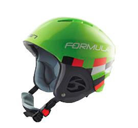 Купить Зимний Шлем Elan 2013-14 FORMULA Green Шлемы для горных лыж/сноубордов 1046896
