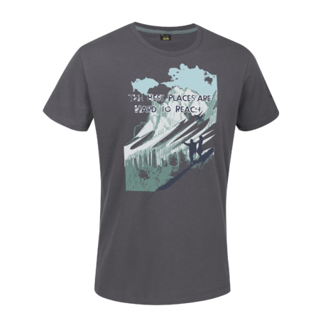 Футболка для активного отдыха Salewa ALPINE LIFE MEN PURSUIT CO M S/S TEE kitten/5850