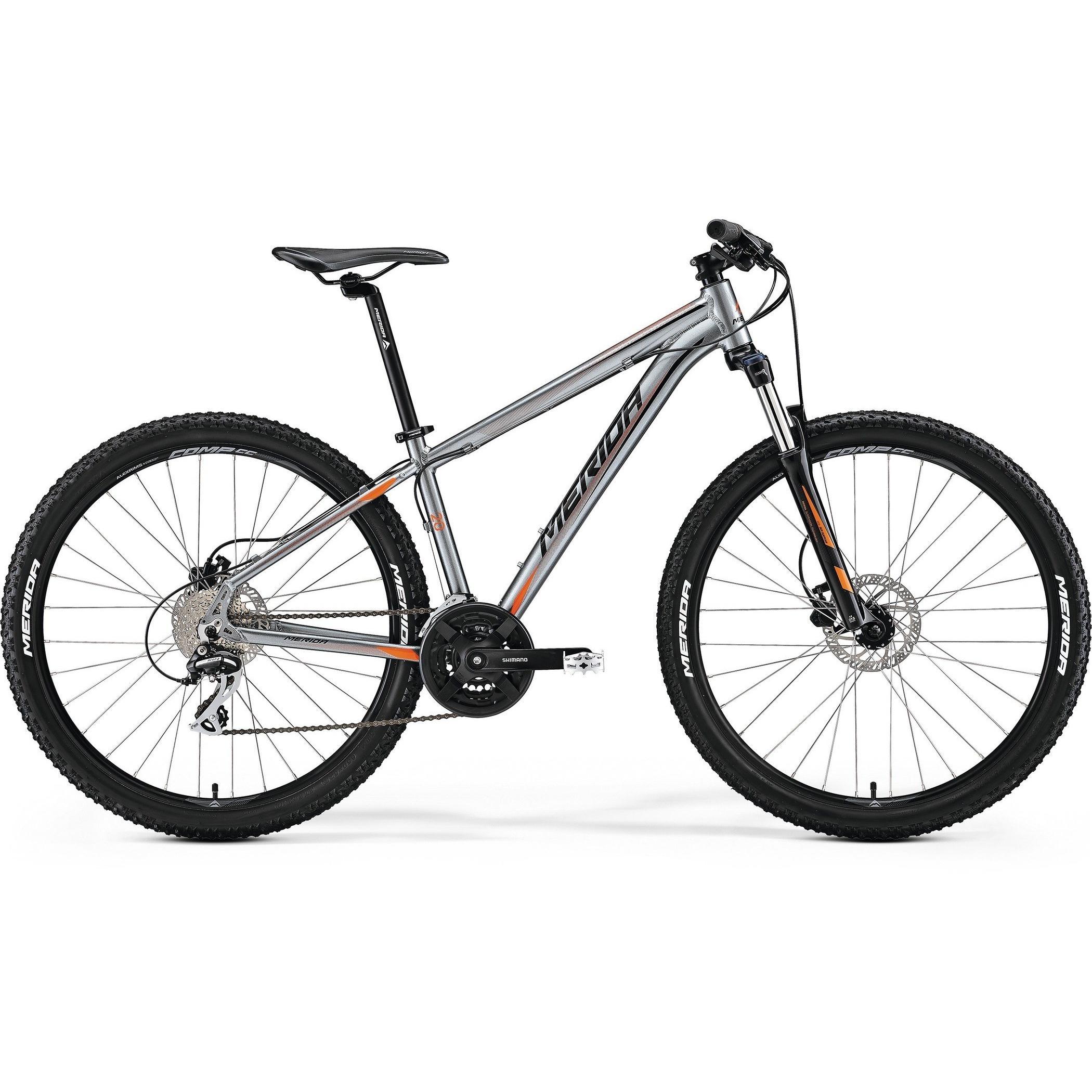 Велосипед Merida Big.seven 20D 2017 Anthracite (Orange/black)