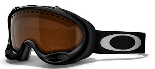 Очки горнолыжные Oakley A-Frame Snow Jet Black Persimmon*