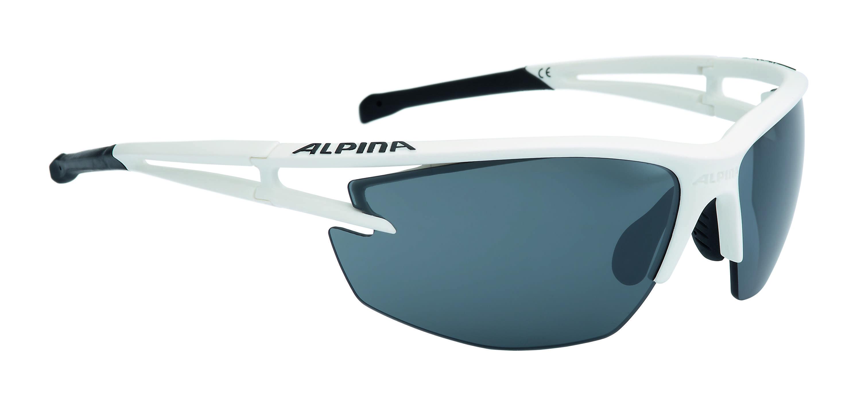 Купить Очки солнцезащитные Alpina PERFORMANCE ALPINA EYE-5 HR CM+ white matt-black, солнцезащитные, 1180449