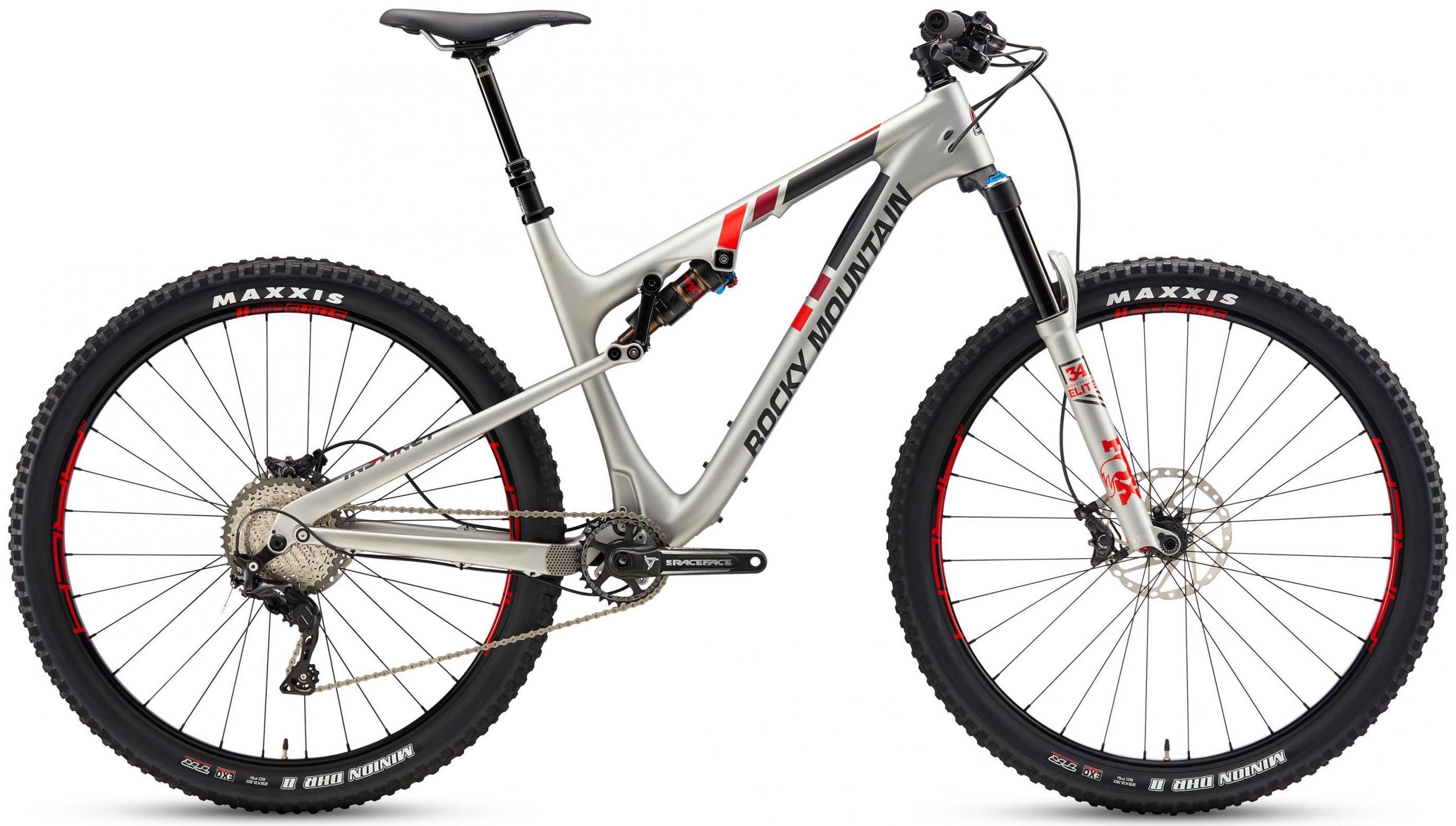 Велосипед Rocky Mountain Instinct 970 Msl 2017 Grey
