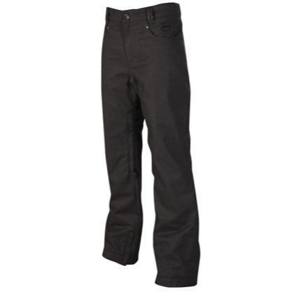 Купить Брюки сноубордические RIPZONE 2013-14 PANTS STUDIO PANT - SLIM FIT Carbon Wooly Одежда сноубордическая 1022310