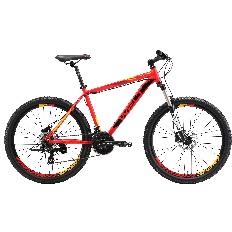 Велосипед Welt 2018 Ridge 1.0 Hd Matt Dark Red/yellow