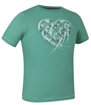 Футболка для активного отдыха Salewa Kids MINNEOLA CO G S/S TEE drag./3360 pr.heart