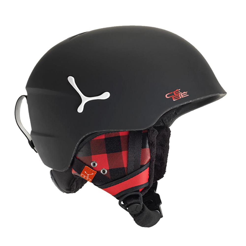 Купить Зимний Шлем CEBE 2017-18 SUSPENSE DELUXE MATTE BLACK SQUARE, Шлемы для горных лыж/сноубордов, 1307606