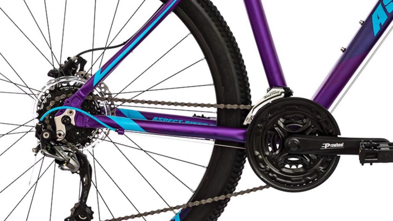 Велосипед Aspect Aura 2018 Фиолетовый