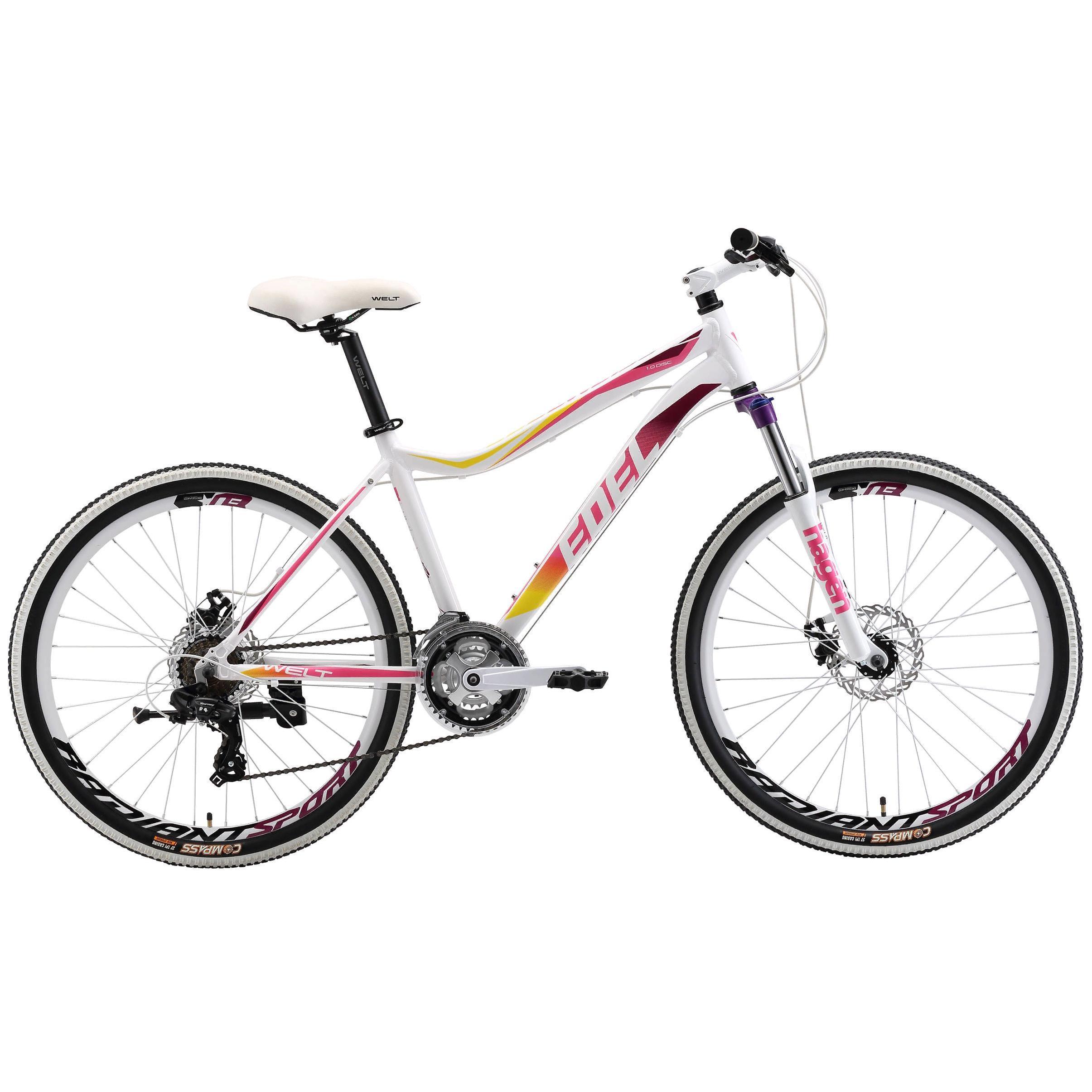 Велосипед Welt 2018 Edelweiss 1.0 D White/purple