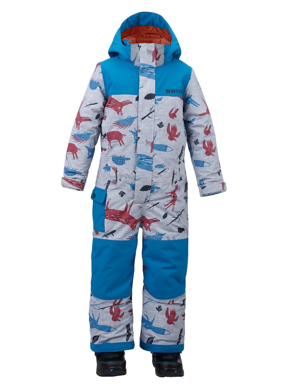 Купить Комбинезон сноубордический BURTON 2017-18 BOYS MS STRIKER OP BBWOLF/MNTNR, Детская одежда, 1354947