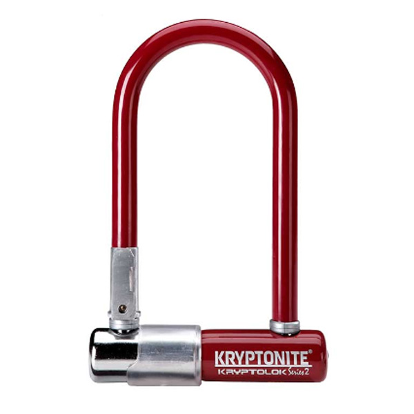 Замок Велосипедный Kryptonite U-Locks Kryptolok Mini-7 W/ Flexframe-U Bracket (Color-Merlot)
