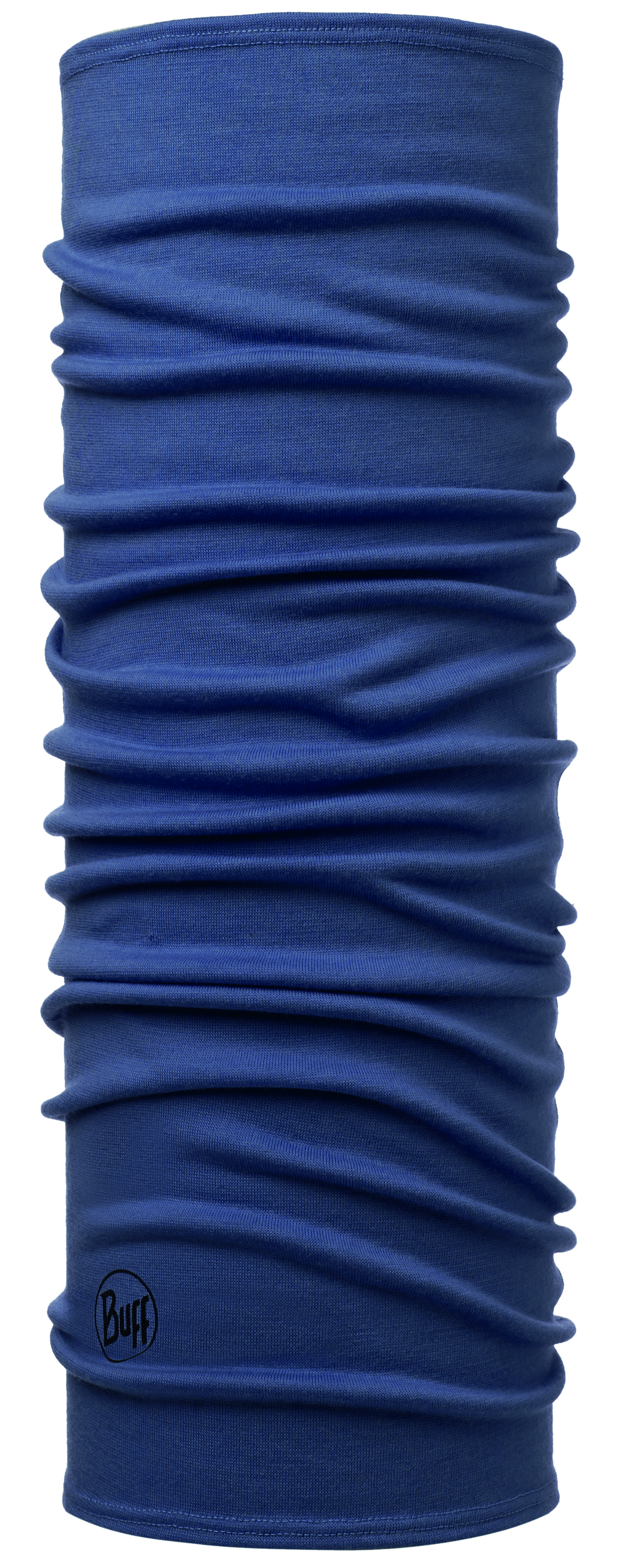 Бандана Buff Midweight Merino Wool Solid Estate Blue