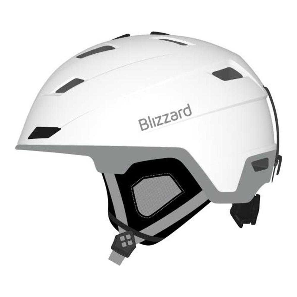 Зимний Шлем Blizzard Viva Double White Matt/silver