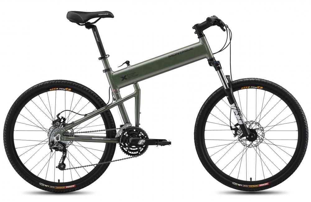 Велосипед Montague Paratrooper Pro 2015 Зеленый