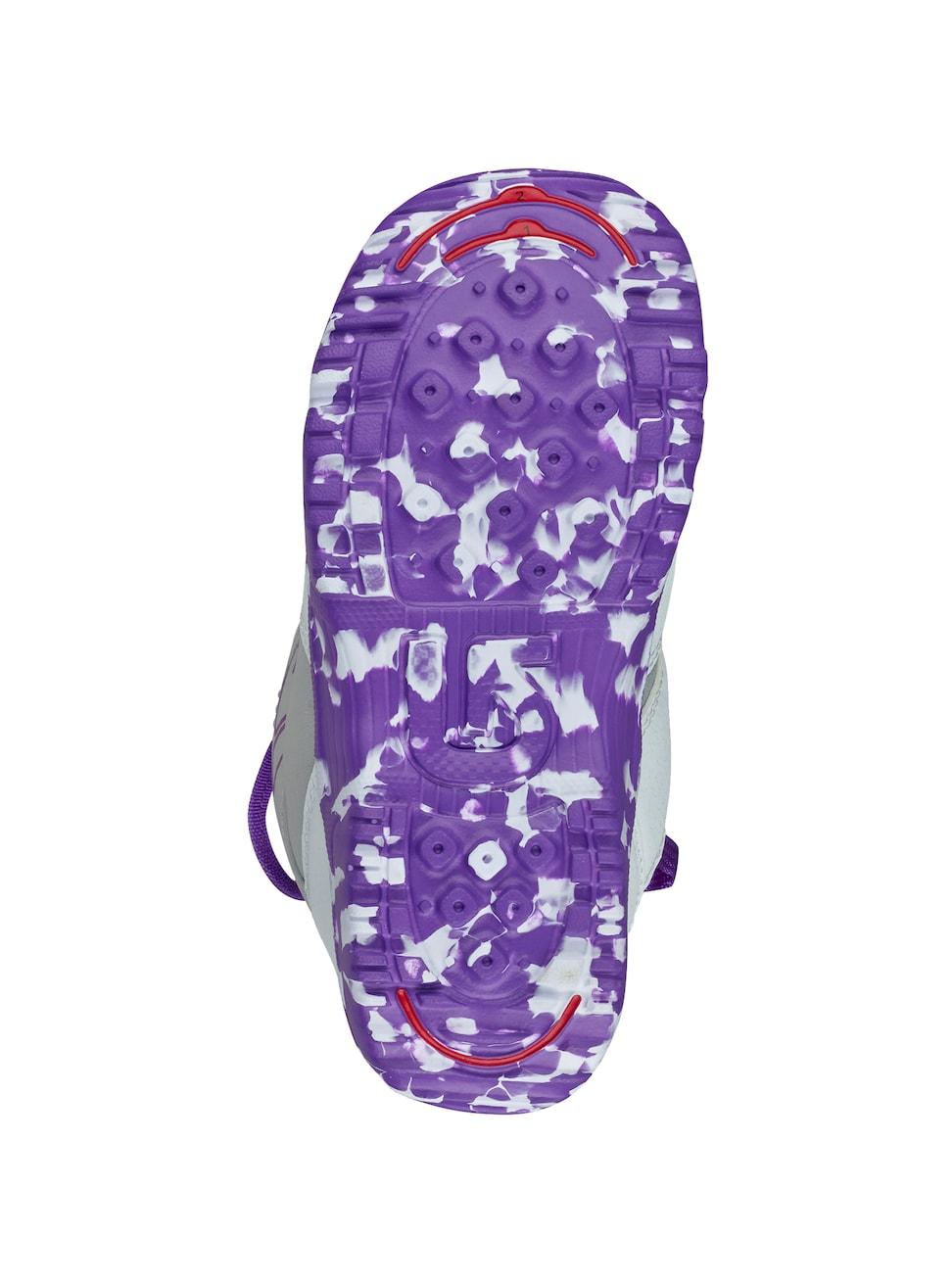 Ботинки Для Сноуборда Burton 2017-18 Grom Boa White/purple