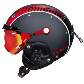 Купить Зимний Шлем Casco SP-3 AIRWOLF RACING Black-Red Шлемы для горных лыж/сноубордов 1119906