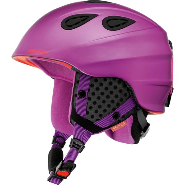 Зимний Шлем Alpina Grap 2.0 Periwinkle Matt