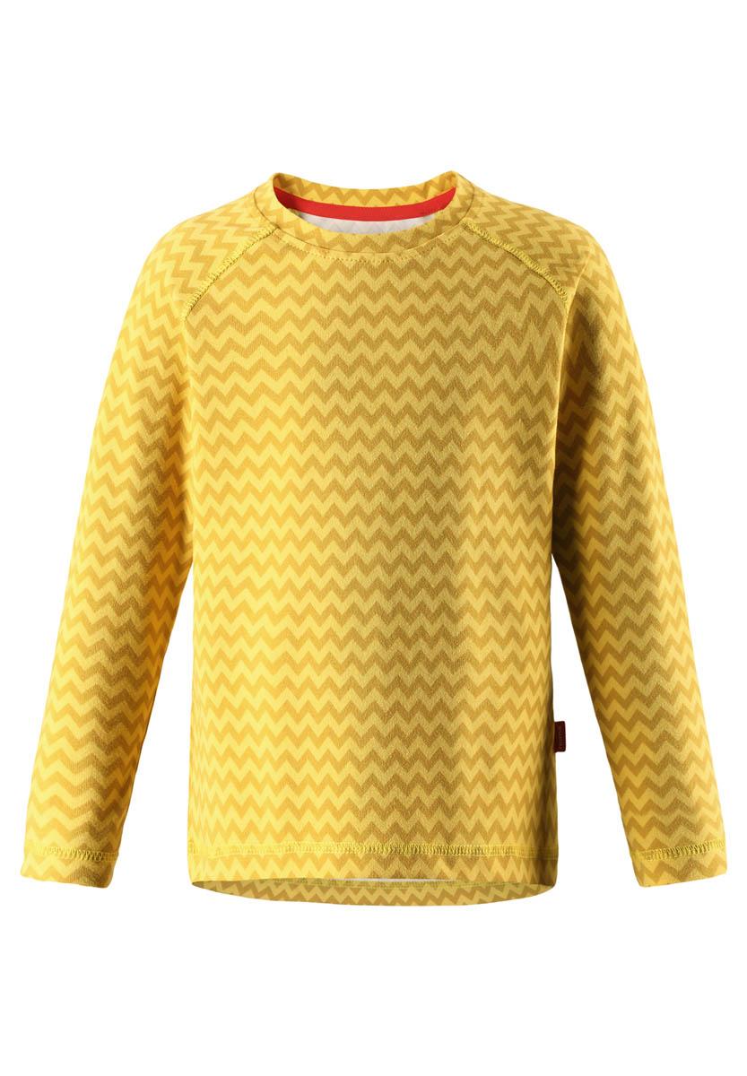 Купить Рубашка для активного отдыха Reima 2017-18 Tiptoe Yellow, Детская одежда, 1351780