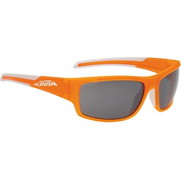 Купить Очки солнцезащитные Alpina SPORT STYLE TESTIDO orange matt-white/black mirror S3 1131785