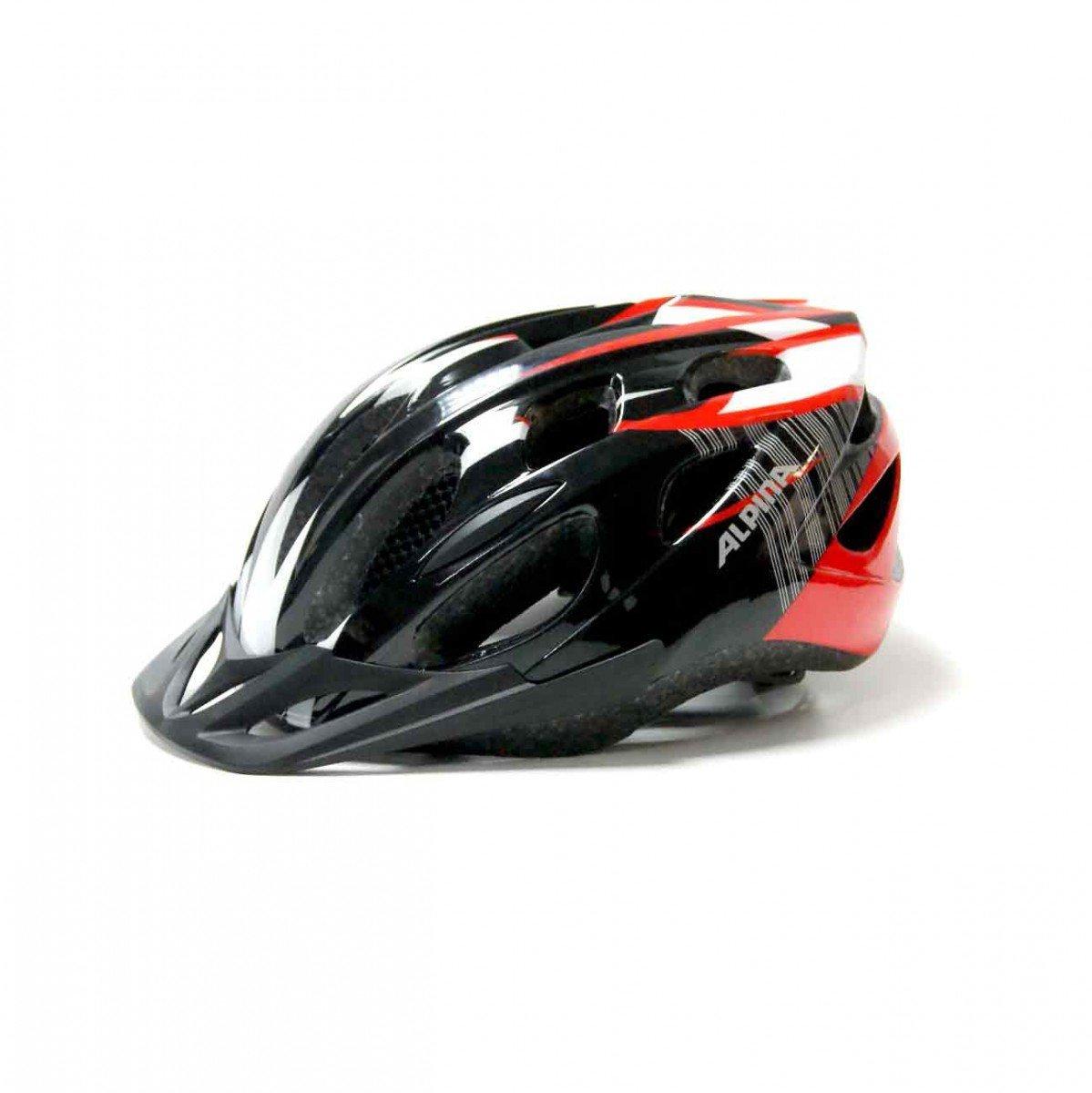 Купить Летний шлем Alpina SMU MTB 14 black-red-white, Шлемы велосипедные, 1180257
