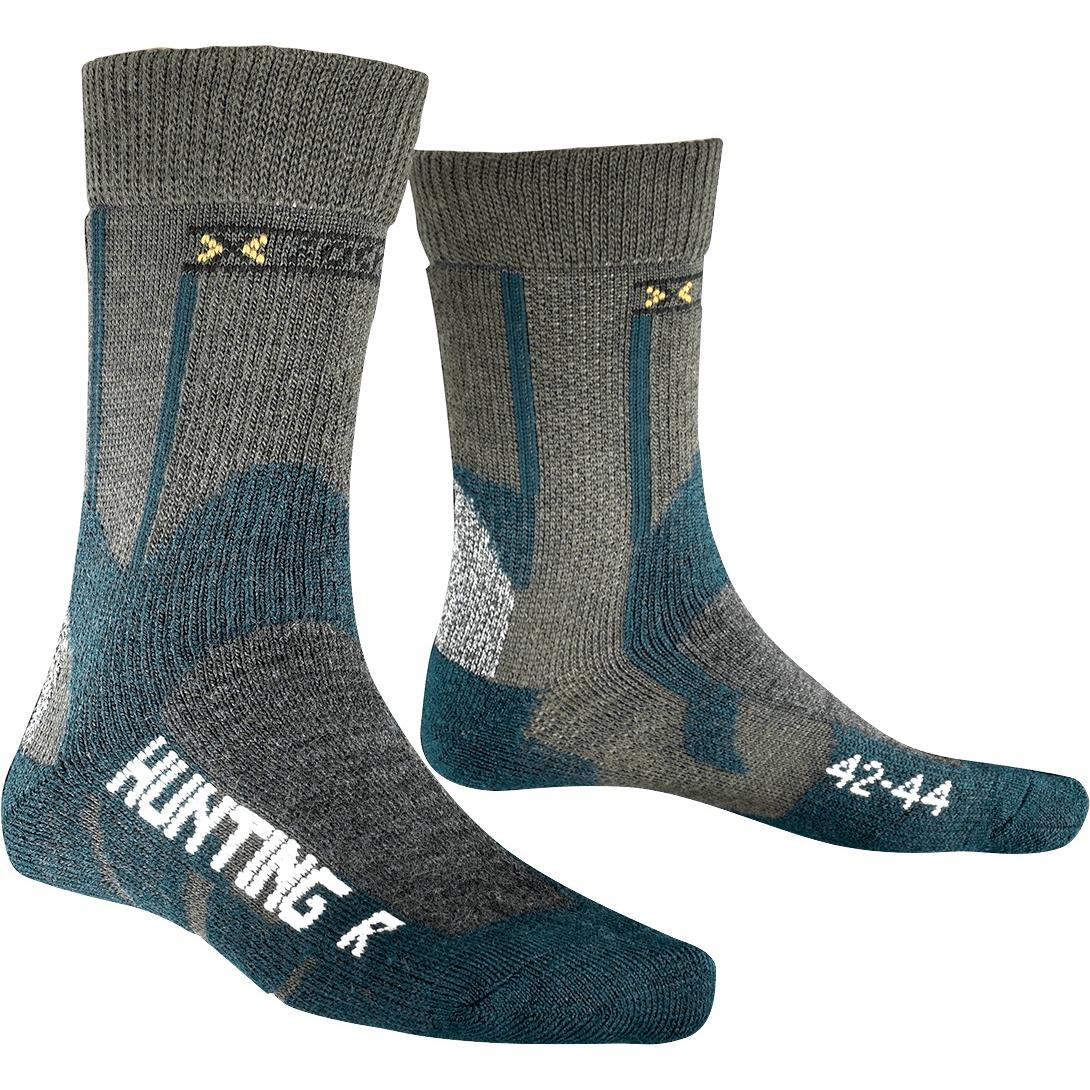Носки X-Bionic 2016-17 X-SOCKS HUNTING SHORT E017 / Зеленый, Носки, 1277620  - купить со скидкой