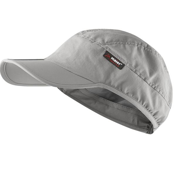 женская кепка maier, серая