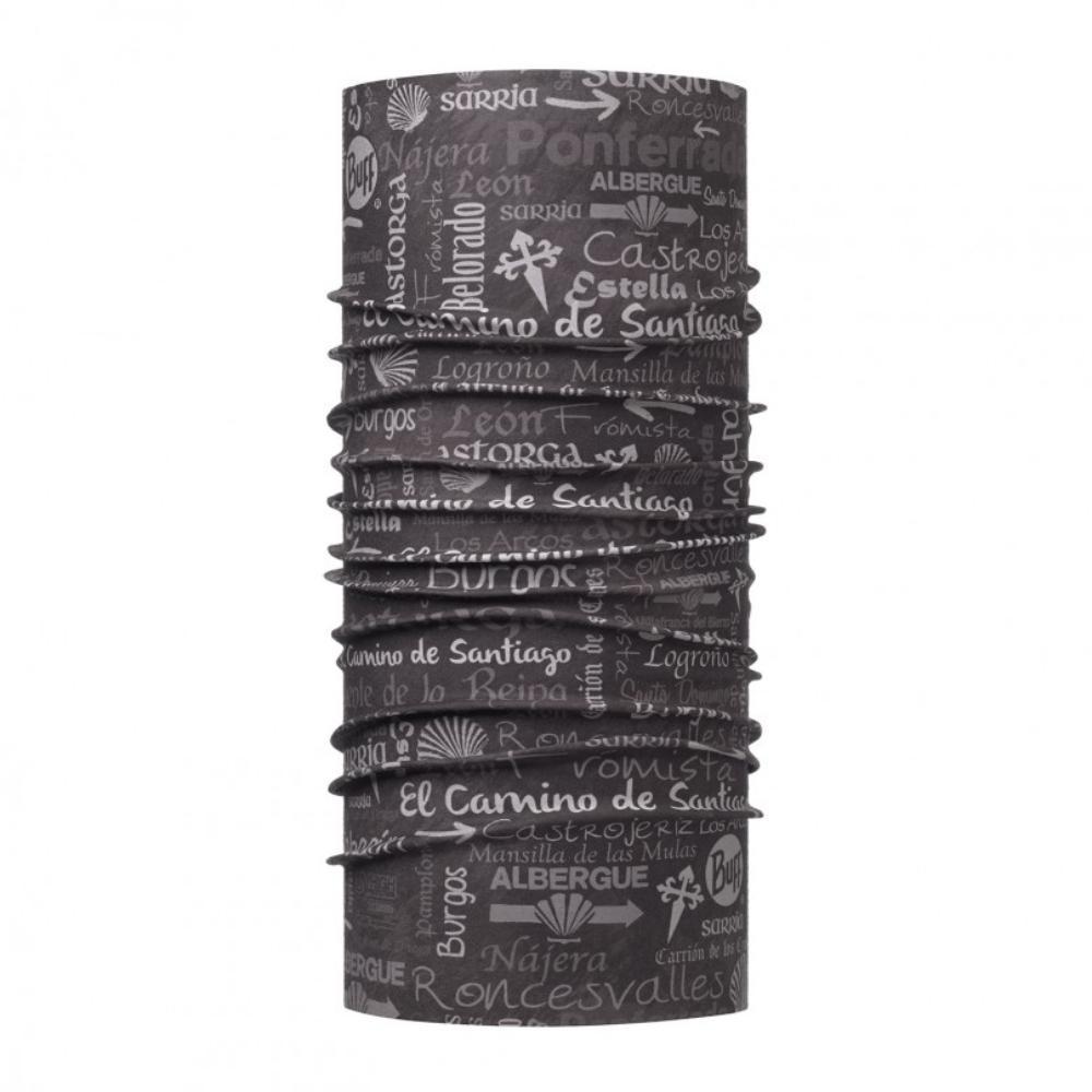Бандана BUFF High UV CAMINO STOPS GREY/OD Банданы и шарфы Buff ® 1343508  - купить со скидкой
