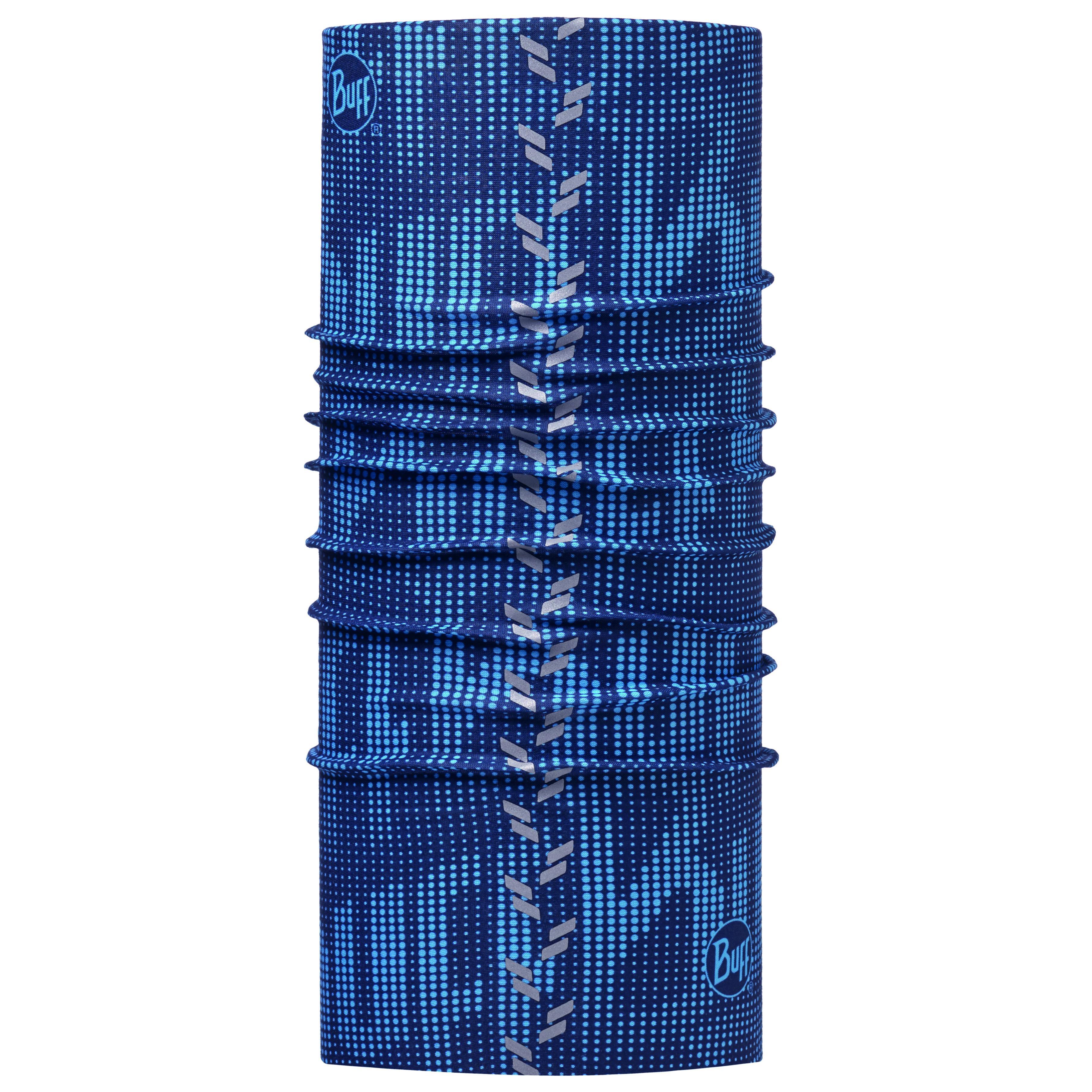 Купить Бандана BUFF REFLECTIVE R-DEEP LOGO DARK NAVY Банданы и шарфы Buff ® 1266801