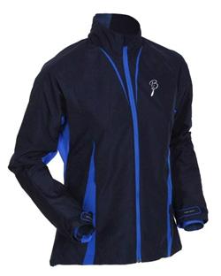 Купить Куртка беговая Bjorn Daehlie Jacket AMBITION Women (Navy/Skydiver) т. синий/синий Одежда лыжная 709567