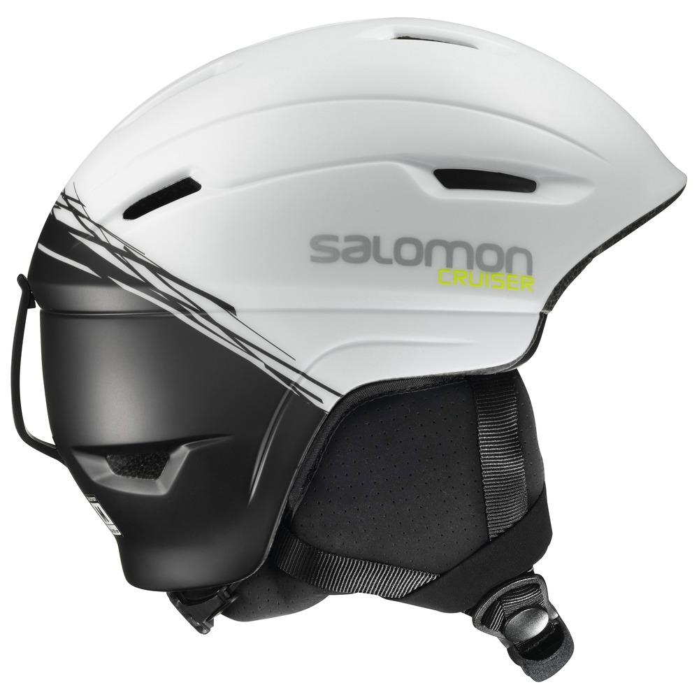 Купить Зимний Шлем SALOMON 2016-17 HELMET CRUISER 4D White/BLACK, Шлемы для горных лыж/сноубордов, 1287384