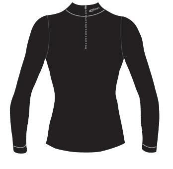 Футболка С Длинным Рукавом Accapi Merino Wool Longsl.t-Shirtwith40575Zip Black (Черный)
