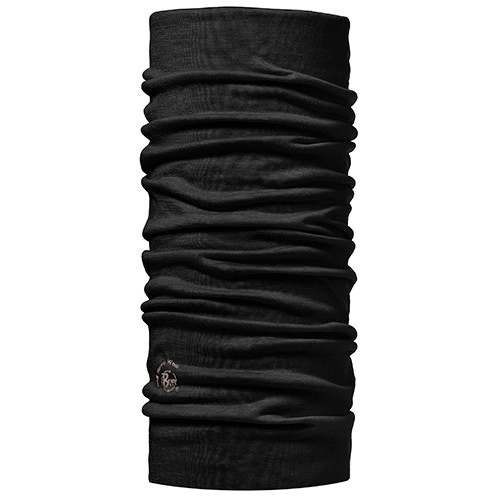 Бандана BUFF MERINO WOOL SOLID BLACK, Аксессуары Buff ®, 875941  - купить со скидкой