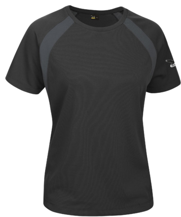 Футболка туристическая Salewa PARTNER PROGRAM ALPINDONNA *SPORTY B. DRY W S/S TEE black/0780