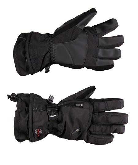 Купить Перчатки горные GLANCE Fusion (black/black) черный Перчатки, варежки 723319