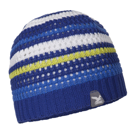 Шапка Salewa Alpine Headgear CLIMB K BEANIE calypso/stripes