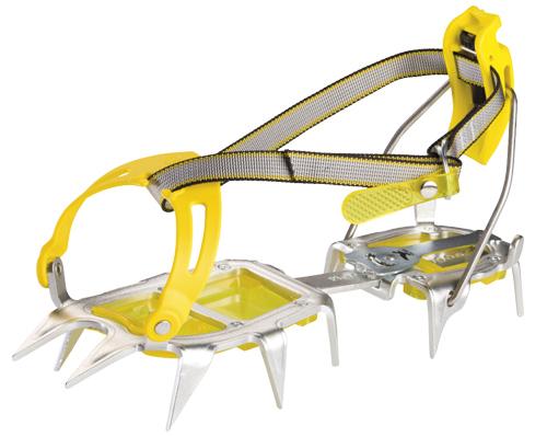 Купить Кошки Salewa Crampons ALUNAL 2.0 COMBI ANTIBOOT CRAMPON STEEL/YELLOW альпинистские 596881