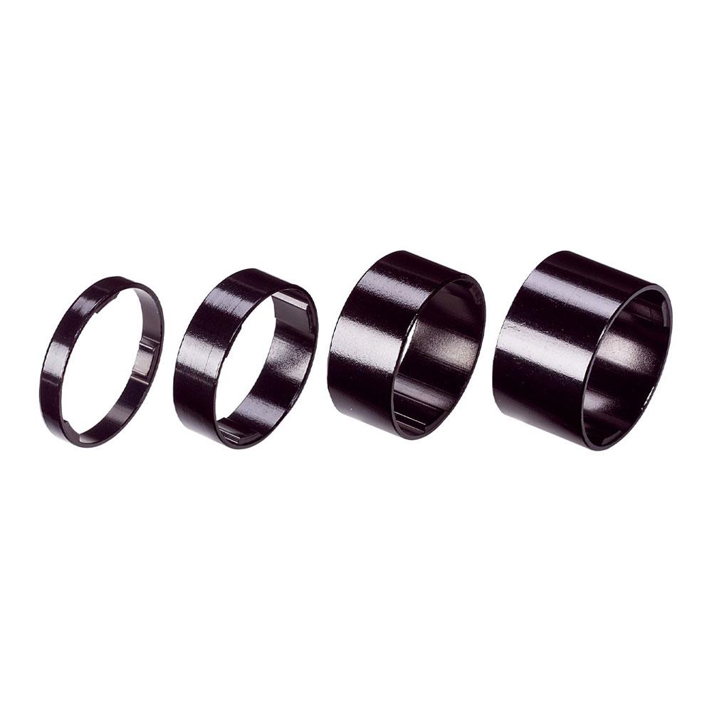Купить Проставочные Кольца Bbb Lightspace 1-1/8 5/10/15/20Mm Черный, унисекс, Рулевое управление