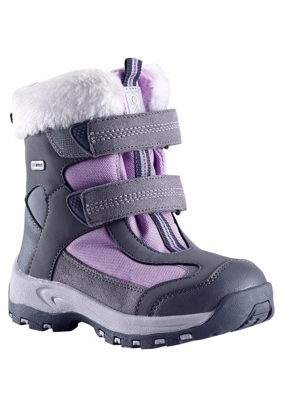 Купить Ботинки городские (высокие) Reima 2016-17 KINOS СЕРЫЙ Обувь для города 1274406