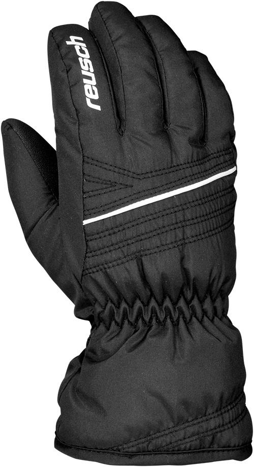 Купить Перчатки Горные Reusch 2017-18 Alan Junior Black / White, унисекс, Перчатки, варежки