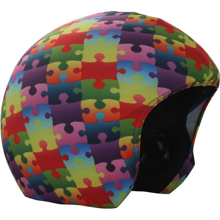 Купить Нашлемник COOLCASC 2017-18 Color Puzzle, Шлемы для горных лыж/сноубордов, 1383751