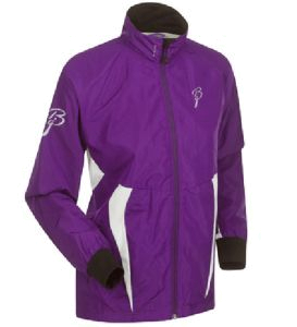 Куртка беговая Bjorn Daehlie Jacket CHARGER Women Tillandsia Purple/Black (фиолетовый/черный)