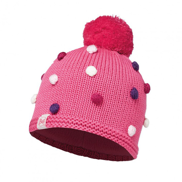 Шапка Buff Child Knitted & Polar Hat Buff Odell Ibis Rose