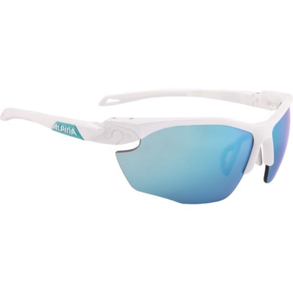 Купить Очки солнцезащитные Alpina 2018 TWIST FIVE HR CM+ white matt-emerald 1398828