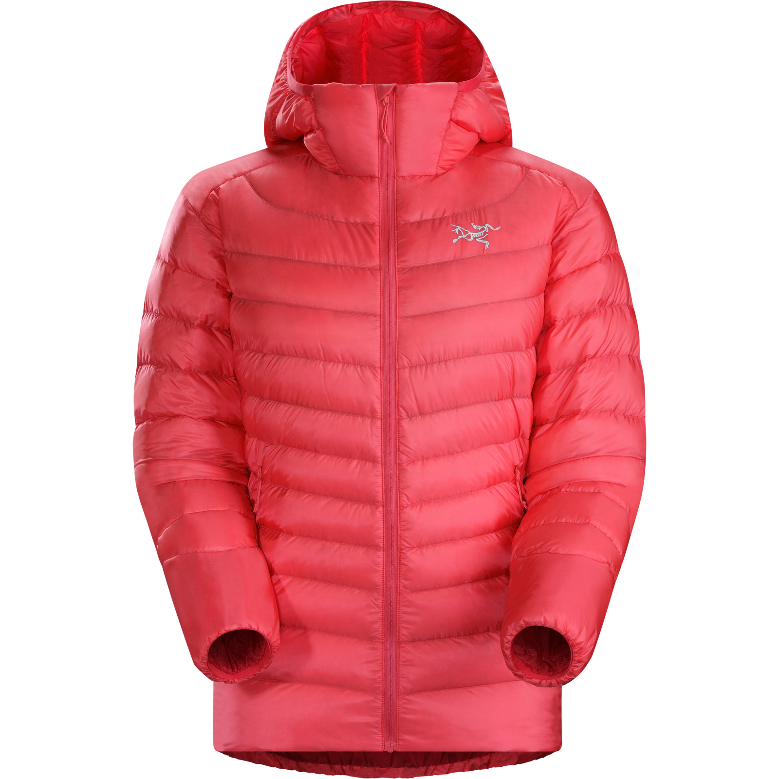 женская куртка arcteryx, розовая