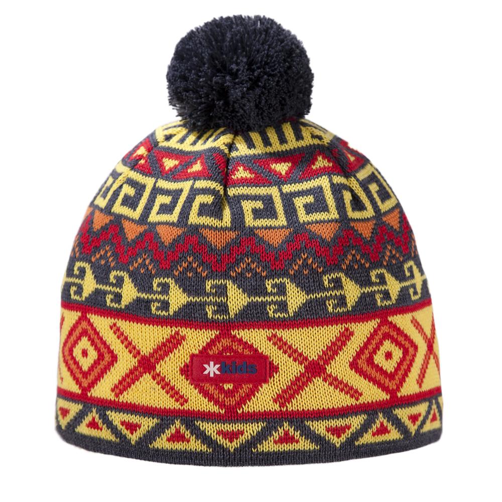 шапка kama для девочки, серая